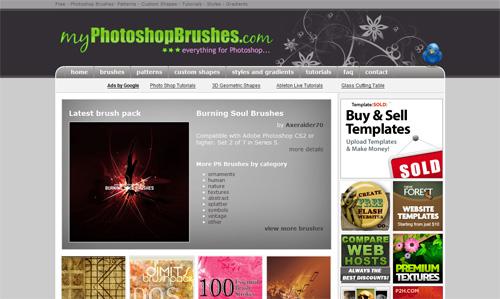 myPhotoshop Brushes.com