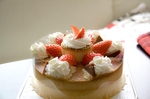 [ke:miyu]プリンのホールケーキ