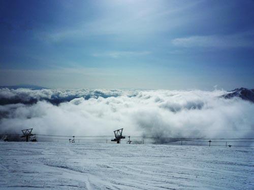 2010-2-17 八方尾根スキー場 リーゼングラート
