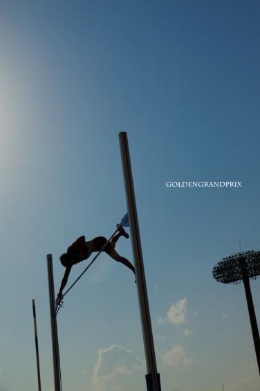 澤野大地選手の棒高跳