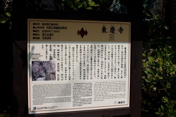東慶寺の説明