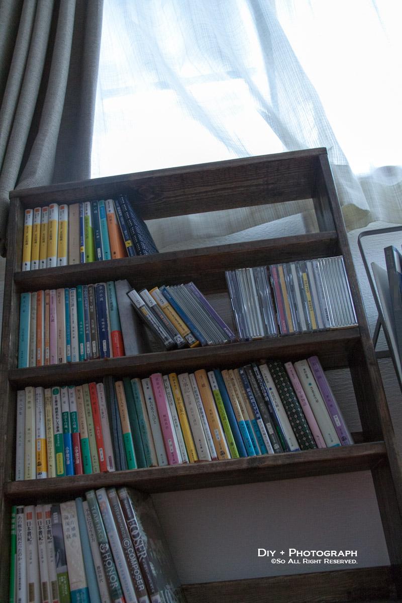 文庫本専用棚に本をいれてみた♪