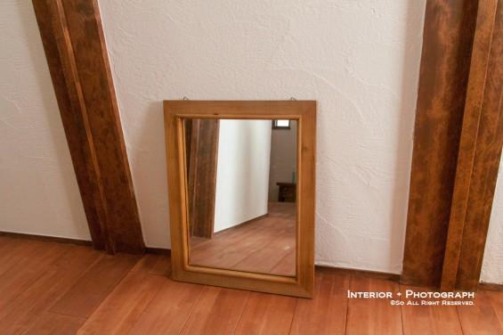 取り付け予定の鏡