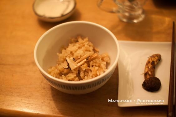 松茸ご飯♪
