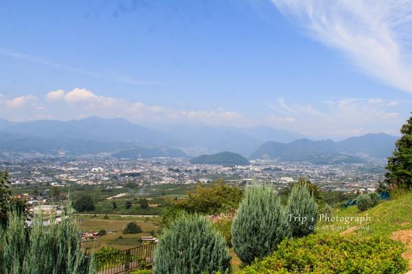 ぶどうの丘からの景色