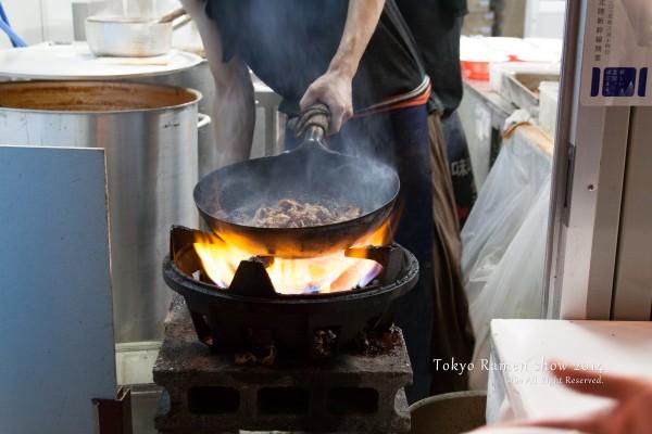 濃厚味噌「炎・炙」肉盛そば ~加賀百年蔵出し2014バージョン~