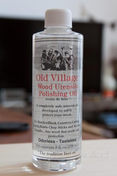 木製食器用オイル